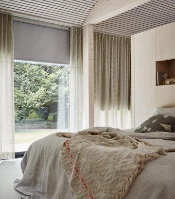 verduisterende rolgordijnen en gordijnen slaapkamer