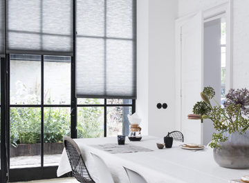Duette hoge ramen
