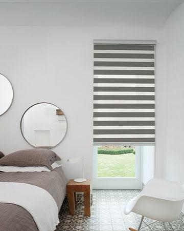 Raamdecoratie voor smalle en kleine ramen Toppoint raamdecoratie duo rolgordijn