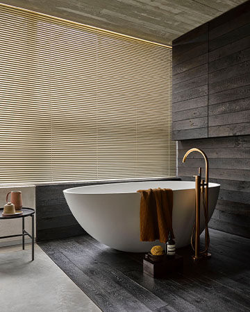 Privacy in de badkamer Toppoint Scala aluminium jaloezie 71162
