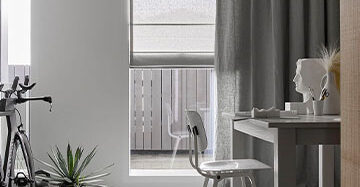 Isolerende raamdecoratie; een warm huis in de winter Toppoint vouwgordijnen Fab gordijn Evisa