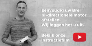 Instructie bi-directionele motor afstellen